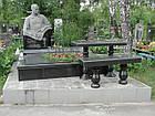 Скульптура мужчины из гранита № 46, фото 3