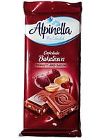 Шоколад  Alpinella Bakaliowа (арахіс ізюм) 90г.