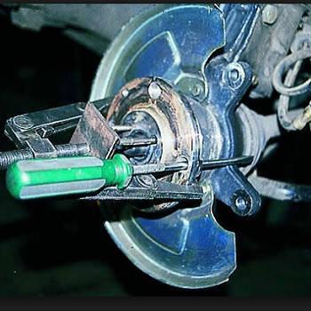 Замена подшипника ступици передней подвески, фото 2