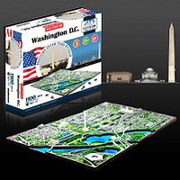 "Объемный пазл ""Вашингтон, США"", 4D Cityscape"