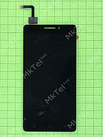 Дисплей Lenovo Vibe P1m с сенсором Оригинал Китай Черный