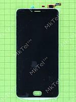 Дисплей Meizu M3 Note с сенсором, rev L681h Оригинал элем. Черный