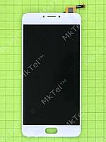 Дисплей Meizu M3 Note с сенсором, rev L681h Оригинал элем. Белый
