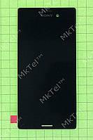 Дисплей Sony Xperia M4 Aqua Dual E2312 с сенсором Оригинал Б/У Черный