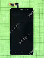 Дисплей Xiaomi Redmi Note 3 с сенсором Оригинал элем. Черный