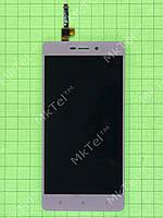 Дисплей Xiaomi Redmi 3S с сенсором Оригинал элем. Золотистый