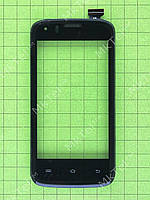 Сенсор Prestigio MultiPhone 4055 DUO с панелью Оригинал Китай Черный