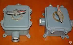 Герметичний пакетний вимикач ГПВ 3-100