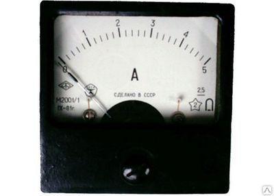 Амперметр М-2001