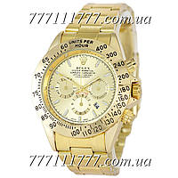 Часы мужские наручные Rolex Daytona Quartz Date All Gold