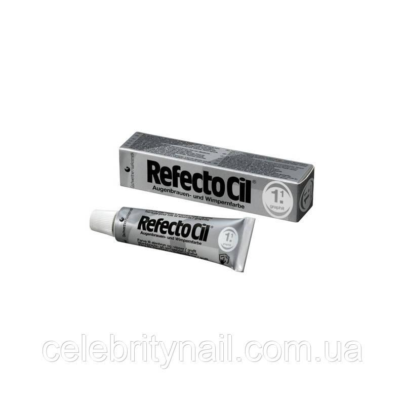 RefectoCil №1.1 Graphite - краска для бровей и ресниц (графит), 15мл - Интернет-магазин CELEBRITY в Харькове