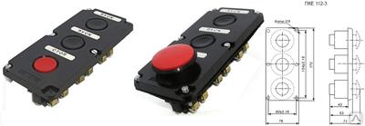 Пост кнопочный ПКЕ-122-3