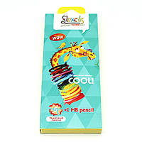 Гнучкі олівці Flexcils (5 кольорів+чорний)