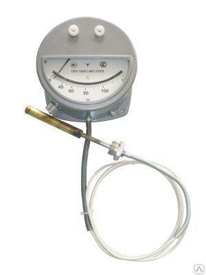 Термометр дистанционный ТКП-160, капилляр 1,6м