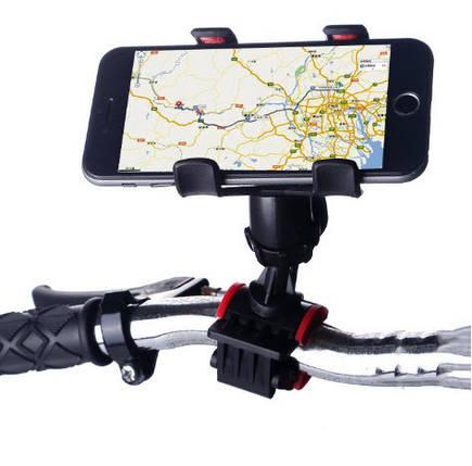 Тримач для телефону на велосипед, Тримач велосипедний з кріпленням на кермо HOLDER BIKE,, фото 2