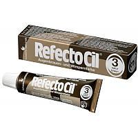 RefectoCil №3 Natural Brown - краска для бровей и ресниц (натуральный коричневая), 15мл