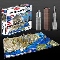 """Объемный пазл """"Сан-Франциско, США"""", 4D Cityscape, фото 1"""