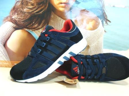Мужcкие кроссовки Adidas Equipment support  синие 45 р.