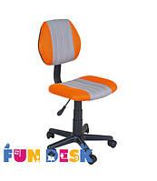 Детское кресло для школьника FunDesk LST4 Orange-Grey