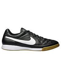 Обувь футбольная Nike Tiempo Genio Leather IC (631283-010) (оригинал)