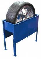 Ванна для проверки герметичности колес легковых автомобилей