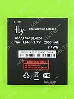 Аккумулятор BL4251 2000mAhFLY IQ450 Horizon Оригинал Б/У