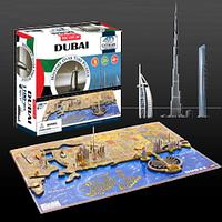 "Объемный пазл ""Дубаи, ОАЭ"", 4D Cityscape, фото 1"