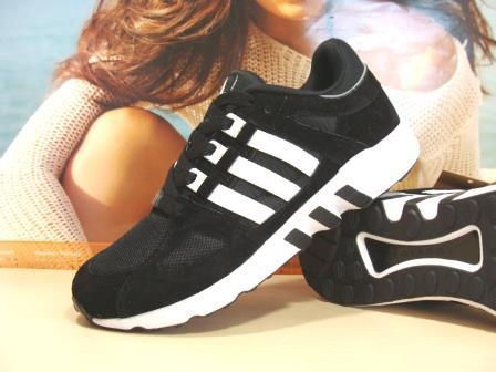 Мужcкие кроссовки Adidas Equipment support (реплика) черные 43 р.