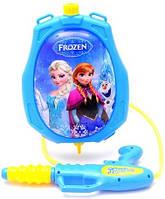 Водный пистолет с рюкзаком для воды Frozen 222-9B