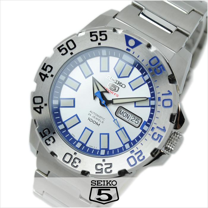 Часы Seiko 5 Sports Neo Monster SRP481K1 Automatic 4R36