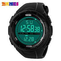Водонепроницаемые, мужские часы Skmei 1025 dive спортивные, ударостойкие