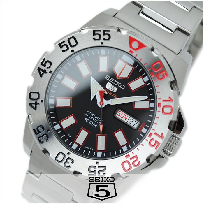 Часы Seiko 5 Sports SRP485K1 Automatic 4R36 Neo Monster B