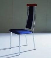 Металлические стулья, C3306  синий со съемным чехлом