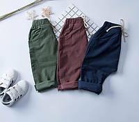 Штаны вельветовые для малышей