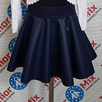 Детска юбка на девочку кожзам Asio