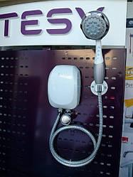 Проточный водонагреватель TESY с душевой лейкой 5,0 кВт