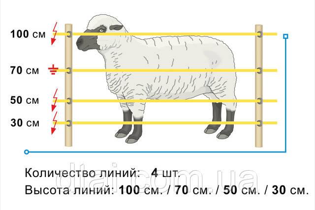 Схема подключения генератора пастуха для овец