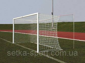 """Сітка для футбольних воріт """"Преміум - 1,5 М"""" (Ø шнура - 3,5 мм, осередок - 10 см)"""
