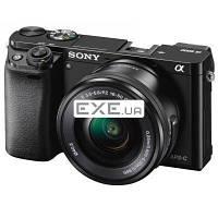 Цифровой фотоаппарат SONY Alpha 6000 kit 16-50mm Black (ILCE6000LB.CEC)