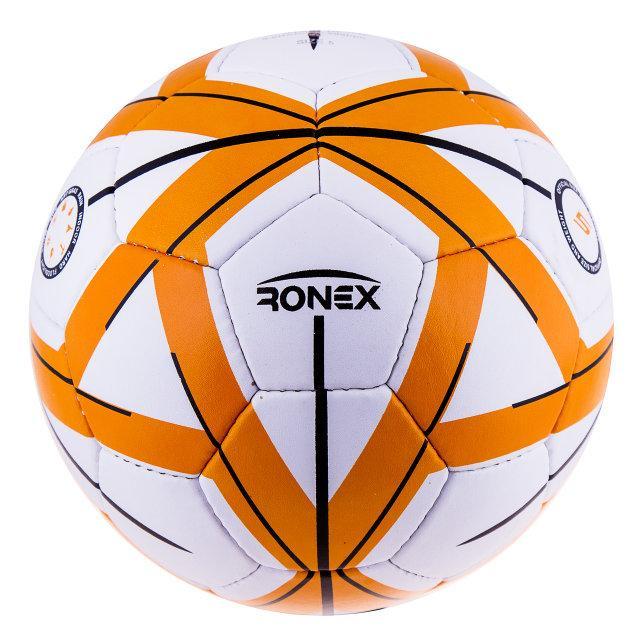 Мяч футбол Grippy Ronex-Molten оранжевый. Распродажа! Оптом и в розницу!