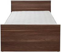 Кровать одноместная LOZ 90 Опен Гербор Орех Калифорния