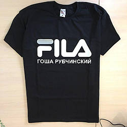 Футболка Гоша Рубчинский FILA мужская| Бирки размер XL