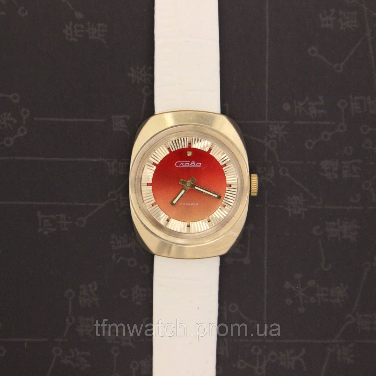 fb40d58d3c55 Слава женские наручные механические часы СССР - Магазин старинных,  винтажных и антикварных часов TFMwatch в