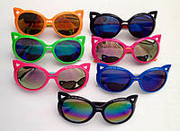 Детские, подростковые солнцезащитные очки с поляризацией для девочек