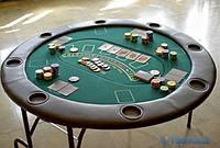 Cтол для покера, рулетки, блэкджека +  рулетка, фишки