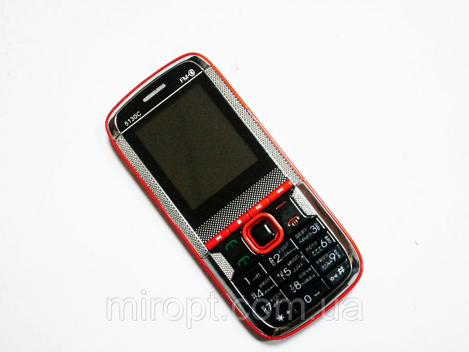 """Телефон Donod 5130C - 2 sim  - 1.8""""  - FM - Bt - Cam- стильный дизайн"""