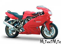Модель мотоцикла Ducati Supersport 900 (красный), 1:18, Bburago, Ducati Supersport 900 (красный), Красный