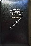 The New Tompson Study Bible. King James Version/ Новая учебная Библия Томпсона, кожа, индексы, золотой обрез, замок