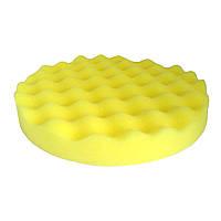 Круг полировальный 150x25мм волнистый желтый WavePolish полумягкий на липучке