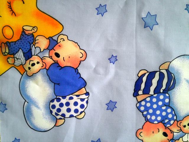 Образцы ткани на детское постельное бельё